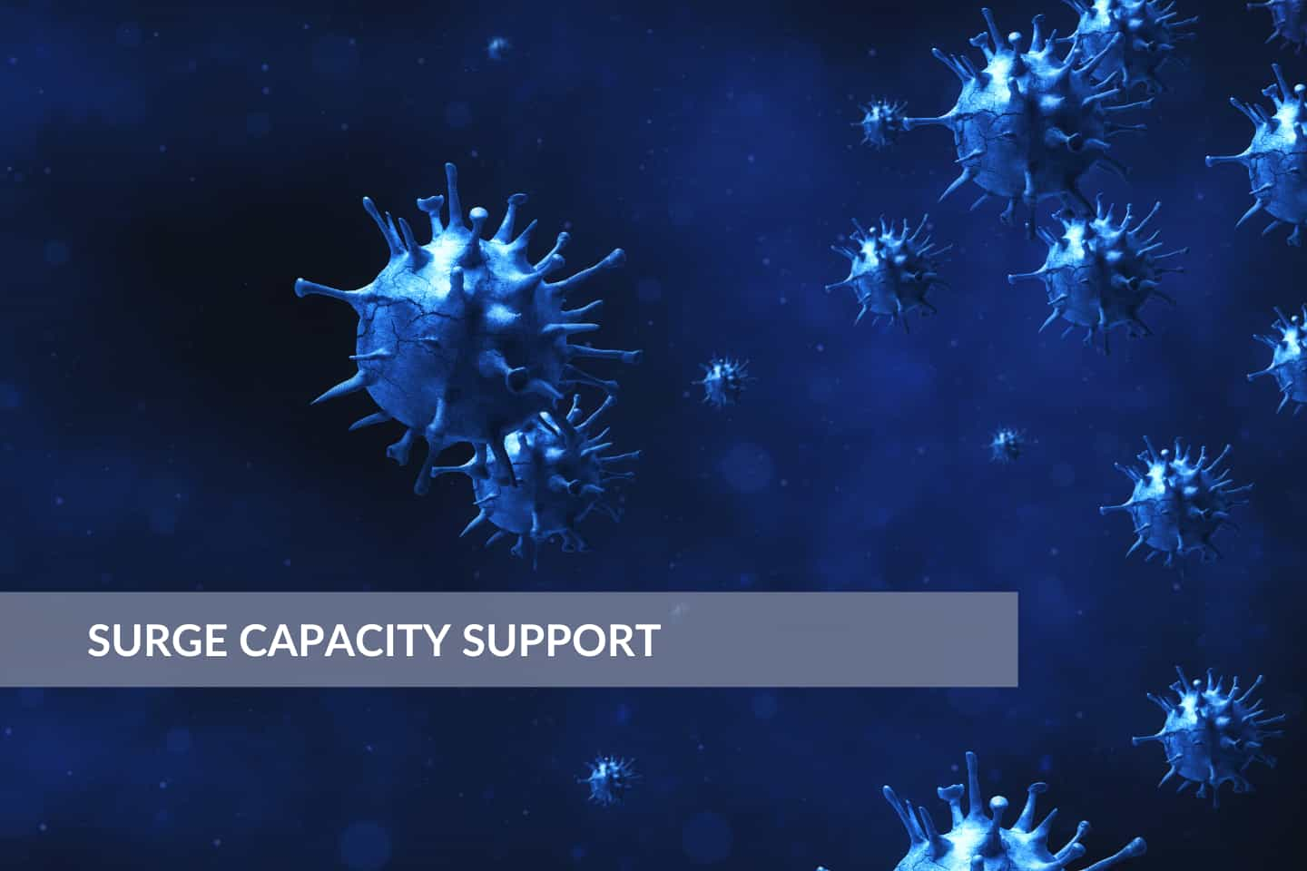 Support for Your Surge Capacity Plans